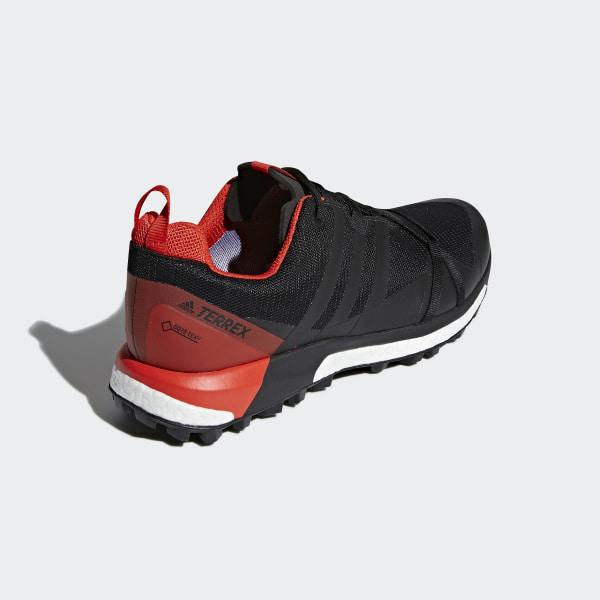 TERREX Agravic GTX Shoes Core Black Carbon Hi-Res Red CM7610 0ab9e71c3