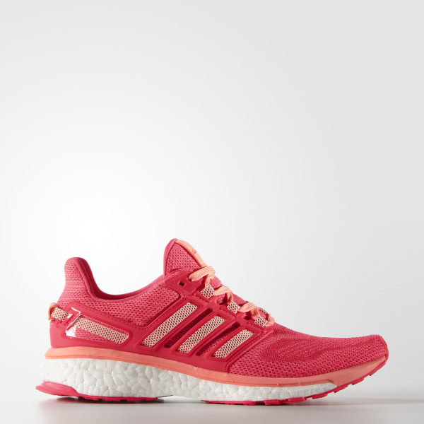 0c5de5d3d0002 Energy Boost 3 Shoes Sun Glow   Halo Pink   Shock Red AF4935