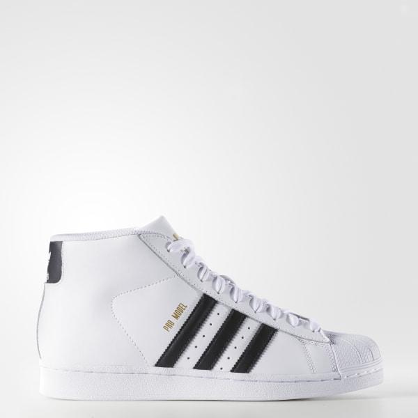 Pro Model Shoes White Core Black S85956 fdd22c591
