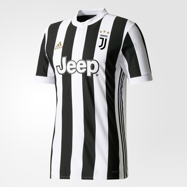 0afda61f3 Juventus Home Authentic Jersey White   Black AZ8708