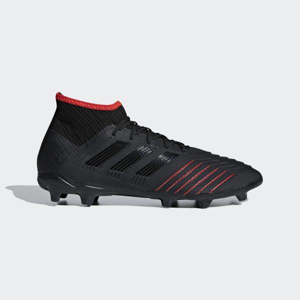 fe1bc464de50 adidas Predator 19.2 Firm Ground Boots - Black