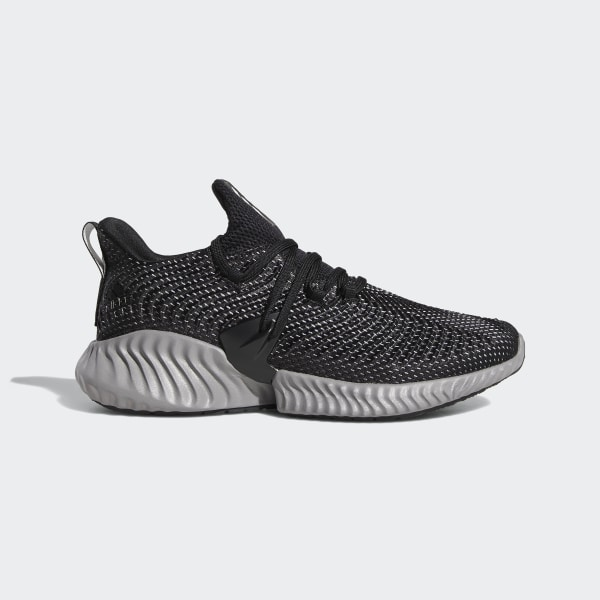 90b7f7e8a9c4e Alphabounce Instinct Shoes Core Black   Cloud White   Grey Three BC0626