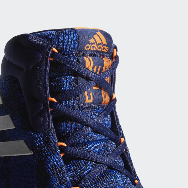 aef0f7bd5accd Pro Bounce 2018 Player Edition Shoes Dark Blue   Hi-Res Orange   Off White