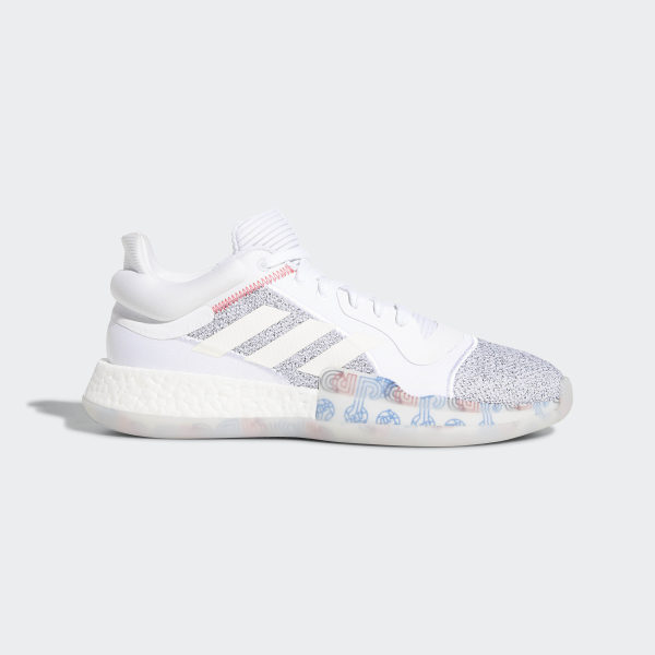 promo code 84066 02734 Marquee Boost Low Shoes Ftwr White  Off White  Shock Cyan G27745