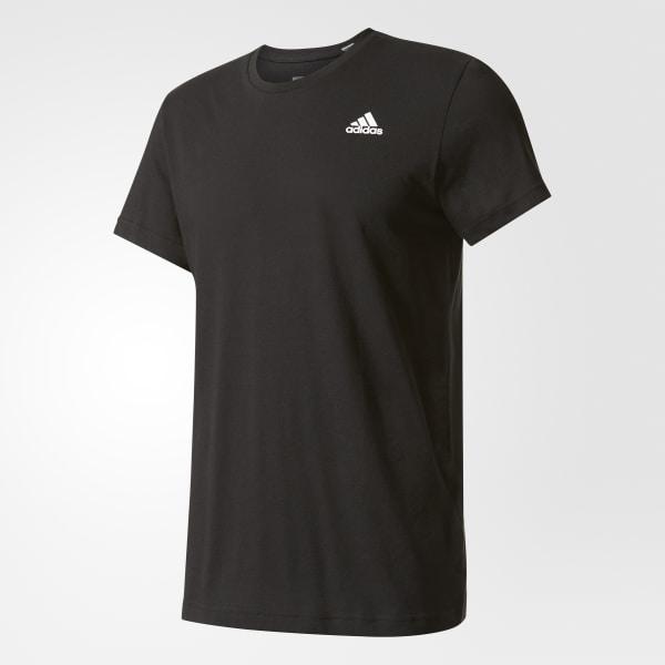 7cb09daa8f0 Camiseta Crew Essentials BLACK WHITE S17643