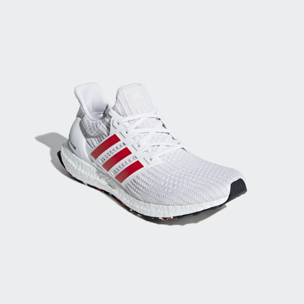 b805890f8 Ultraboost Shoes Ftwr White   Active Red   Chalk White DB3199