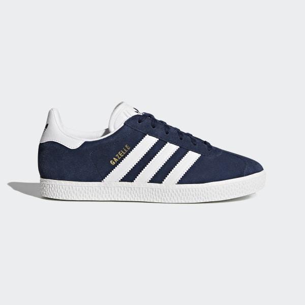 adidas Gazelle Shoes - Blue  41d7a2135