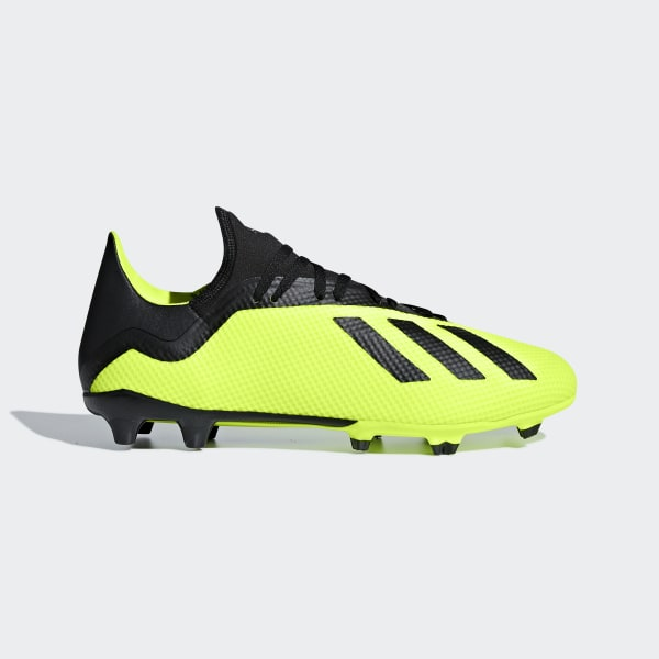 best sneakers 2bd6f 70052 Zapatos de Fútbol X 18.3 Terreno Firme SOLAR YELLOW CORE BLACK FTWR WHITE  DB2183