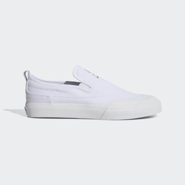 f2f1c3fb133a Matchcourt Slip-On ADV Shoes Cloud White   Cloud White   Cloud White F37386