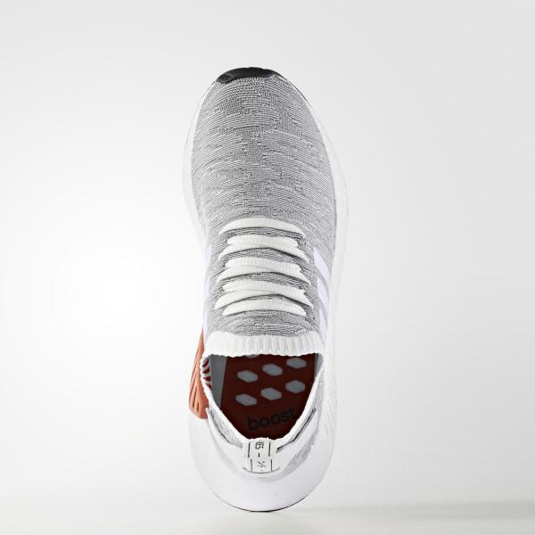 aca70e580 NMD R2 Primeknit Shoes Grey   Footwear White   Core Black BY9410