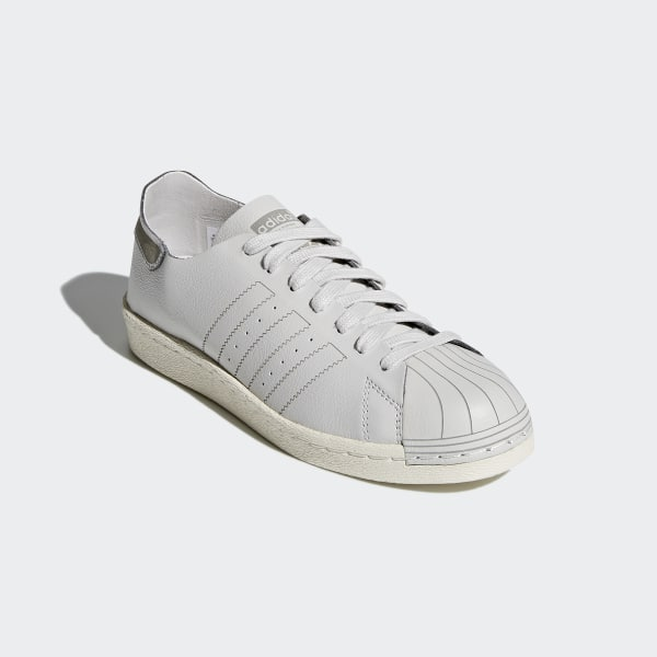 eda1b9ee186 Superstar 80s Decon Shoes Grey One   Grey One   Off White CQ2588