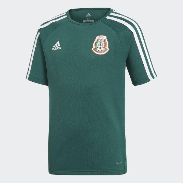 Playera Mexico Home 2018 COLLEGIATE GREEN WHITE BQ4684 c7b96ce71e274