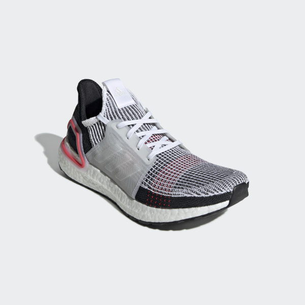 5d76195e9cc Ultraboost 19 Shoes Ftwr White   Chalk White   Active Red B37703