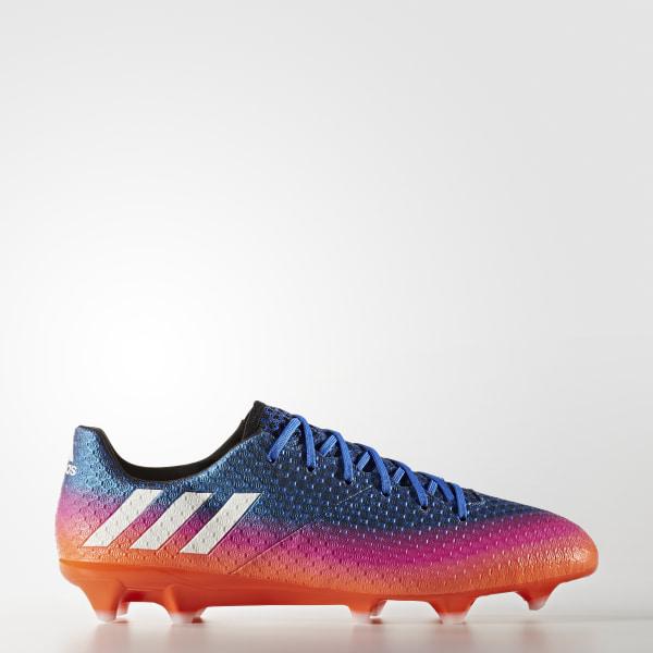 3bdd9cb425 Guayos Messi 16.1 Terreno Firme BLUE FTWR WHITE SOLAR ORANGE BB1879
