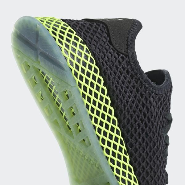 sports shoes fc2ed c7c08 Deerupt Runner Shoes Core Black  Core Black  Ash Blue B41755