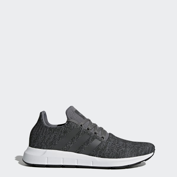 e9f1feda5 Swift Run Shoes Grey   Core Black   Cloud White CG4116