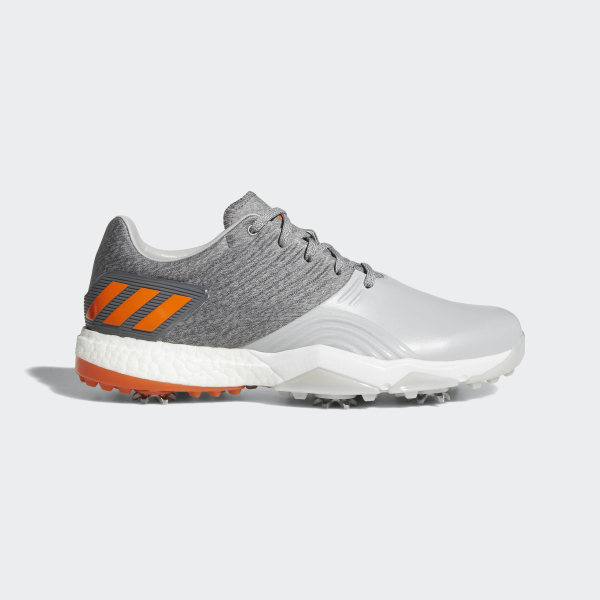 sports shoes 9e153 e9094 Chaussure Adipower 4orged Wide Grey Two  Grey Four  Energy Orange AC8263