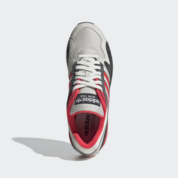 19a6159ea7f60 Ultra Tech Shoes Raw White   Shock Red   Grey Four BD7935