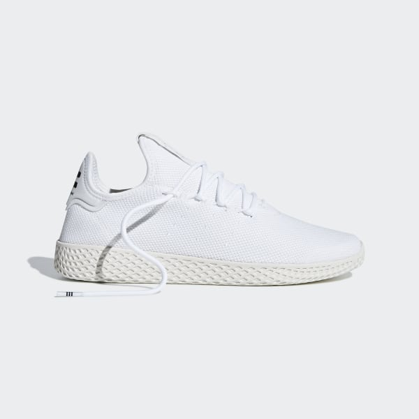 0fcf8c6d7b6de Pharrell Williams Tennis Hu Shoes Ftwr White   Ftwr White   Chalk White  B41792