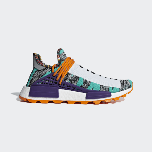 52113801885b Pharrell Williams SOLARHU NMD Shoes Hi-Res Aqua   Core Black   Black BB9528