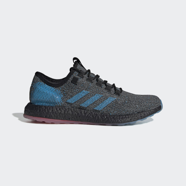 a77344471ccec Pureboost LTD Shoes Core Black   Core Black   Active Red B37811