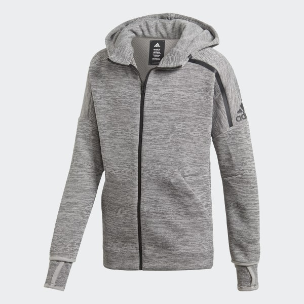 the latest 15476 01388 Chaqueta con capucha adidas Z.N.E. Fast Release Grey Black DV1609