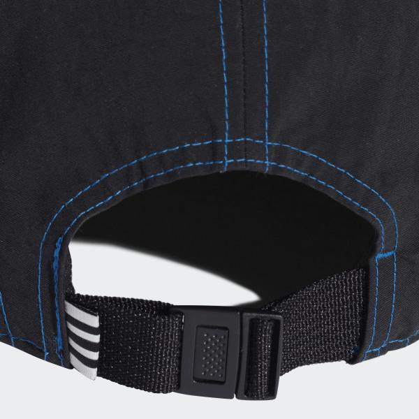 promo code 74cb8 e31d8 adidas NMD 5-Panel Cap Black  Lush Blue DH4418