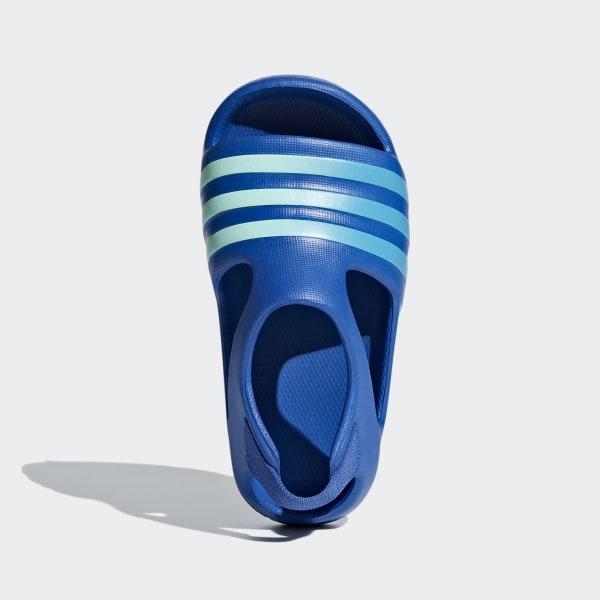 f03351ca3 Adilette Play Slides blue   shock cyan   clear mint CG6599