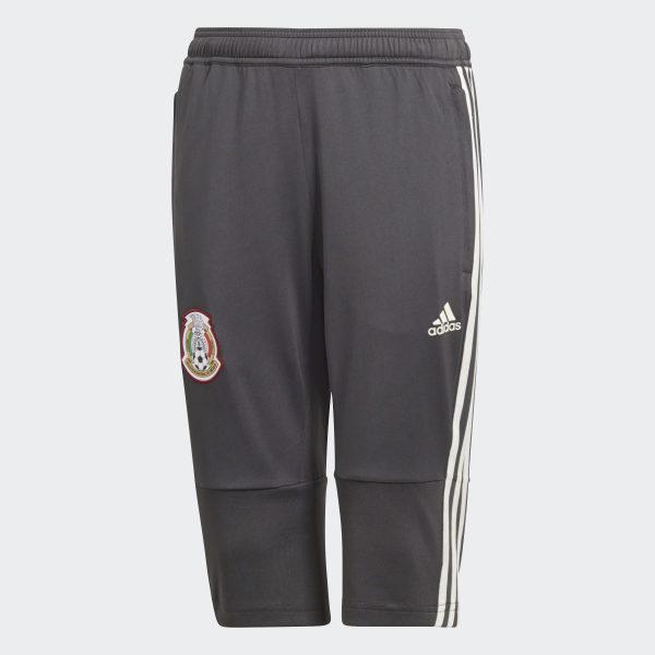 d3f6708a95040 Pantalones 3 4 Selección de México Niño 2018 UTILITY BLACK F16 OFF WHITE  CF0502