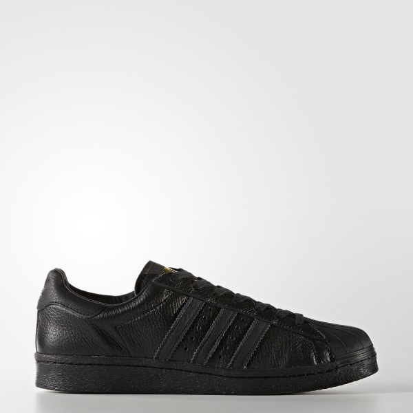 1ad3ed4028d4 Buty Superstar Boost Shoes Core Black   Gold Metallic   Gold Metallic BB0186