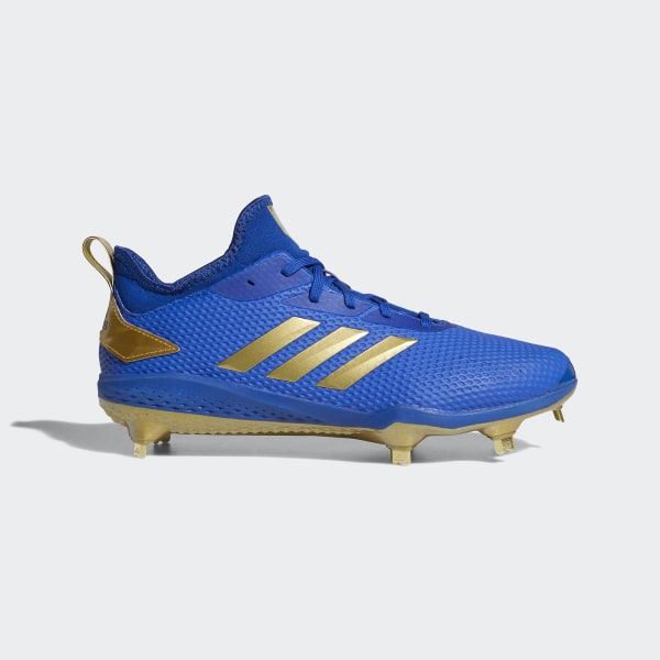 classic fit 3cab6 00bfb Adizero Afterburner V Cleats Collegiate Royal   Gold Metallic   Core Black  CG5221