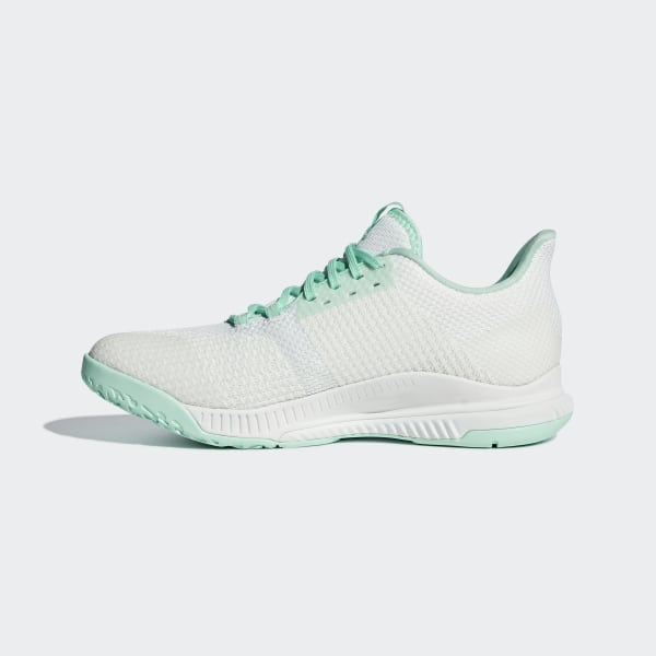 185e2f8212514 Crazyflight Bounce 2.0 Shoes Ftwr White   Clear Mint   Clear Mint BC1030