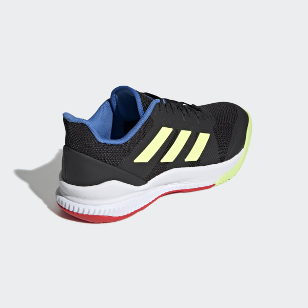 511099ee21ec5 Stabil Bounce Shoes Core Black   Hi-Res Yellow   True Blue BD7412