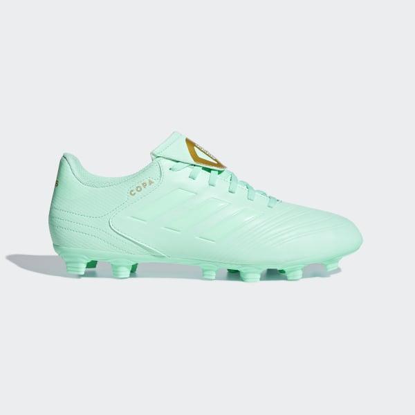 quality design 5a391 3792e Calzado de Fútbol COPA 18.4 FxG CLEAR MINT F18CLEAR MINT F18GOLD MET