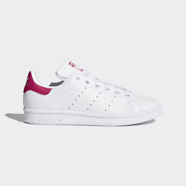 competitive price 263e0 c7983 Chaussure Stan Smith Footwear White   Bold Pink   Bold Pink B32703