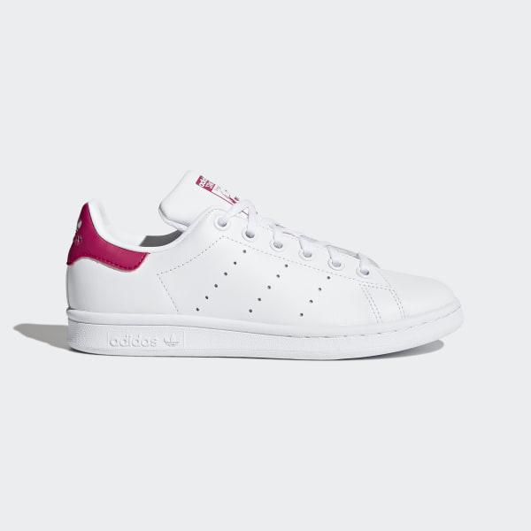 Stan Smith Shoes Footwear White Bold Pink B32703 3665e5457eb