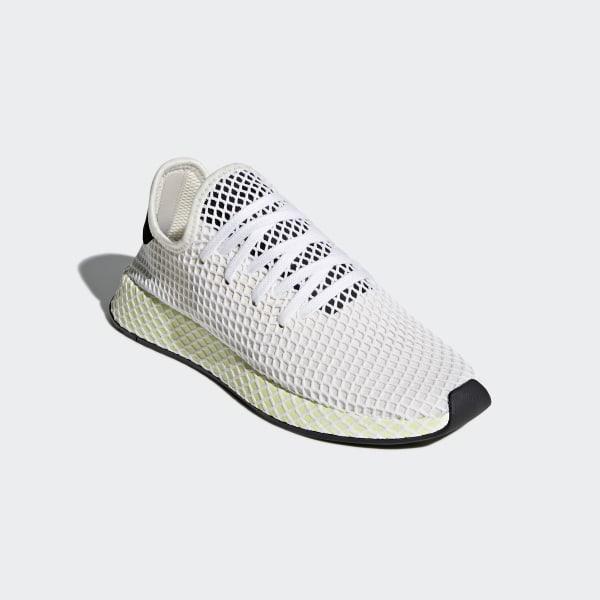 2595d9a7c Deerupt Runner Shoes Chalk White   Core Black   Core Black CQ2629