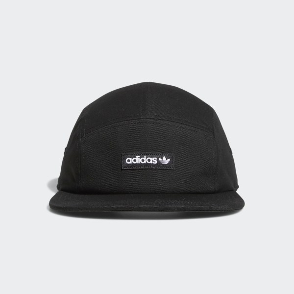 adidas Five-Panel Forum Hat - Black  6204e4f02b4