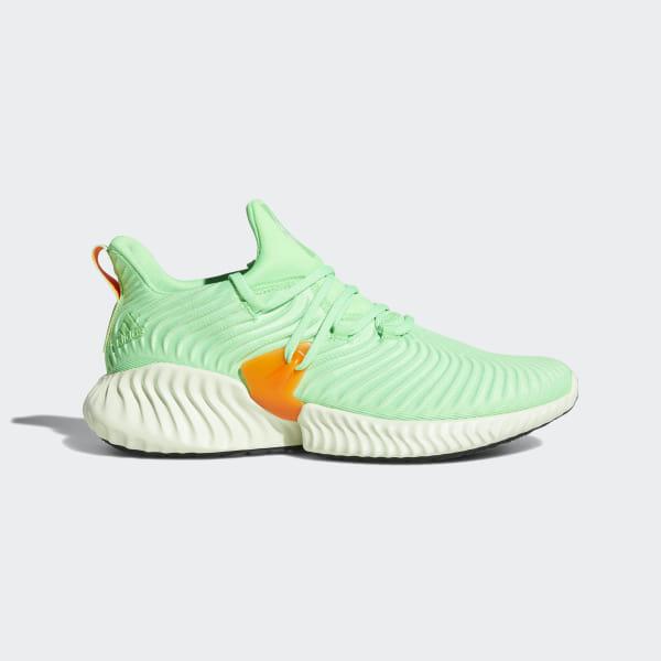 2cb1d1b75beca6 Alphabounce Instinct Shoes Shock Lime   Aero Green   Hi-Res Orange CG5515