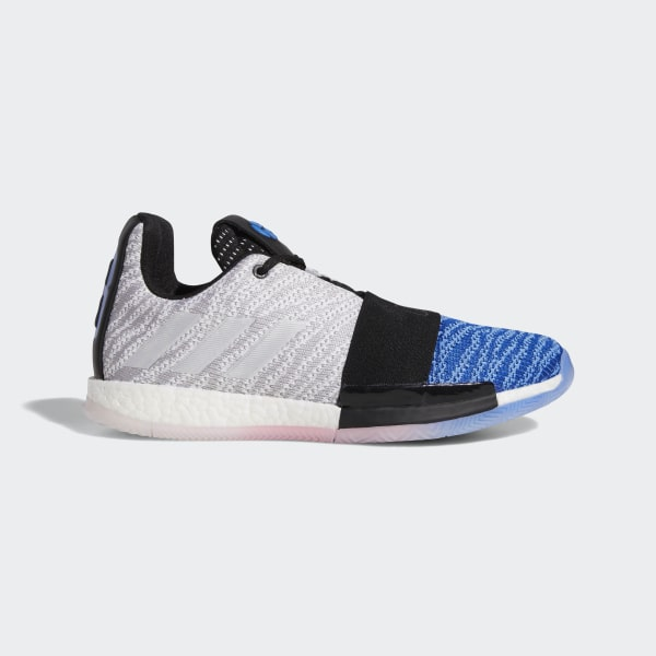 c26365c0fc1b Harden Vol. 3 Shoes Grey   True Blue   Black G26810