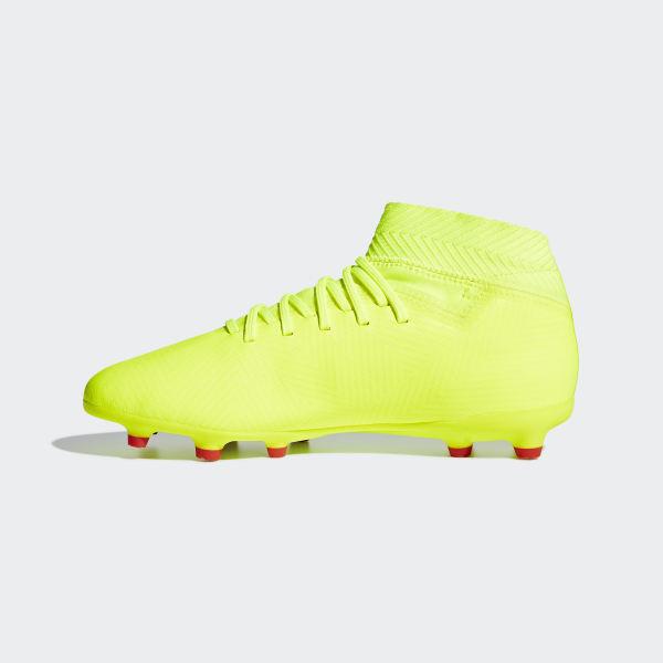 80736c3d68fbe Botines Nemeziz 18.3 Terreno Firme Solar Yellow   Football Blue   Active  Red CM8505