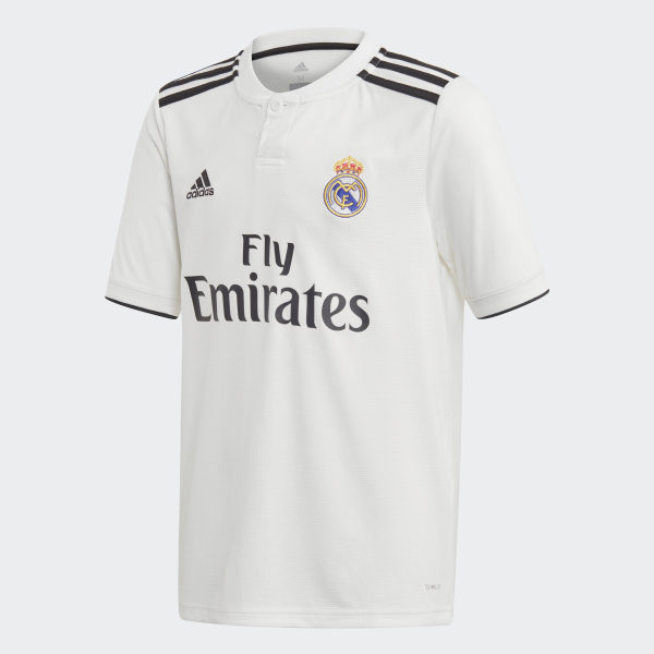 c18c0e56cde12 Camiseta Local Real Madrid CORE WHITE BLACK CG0554