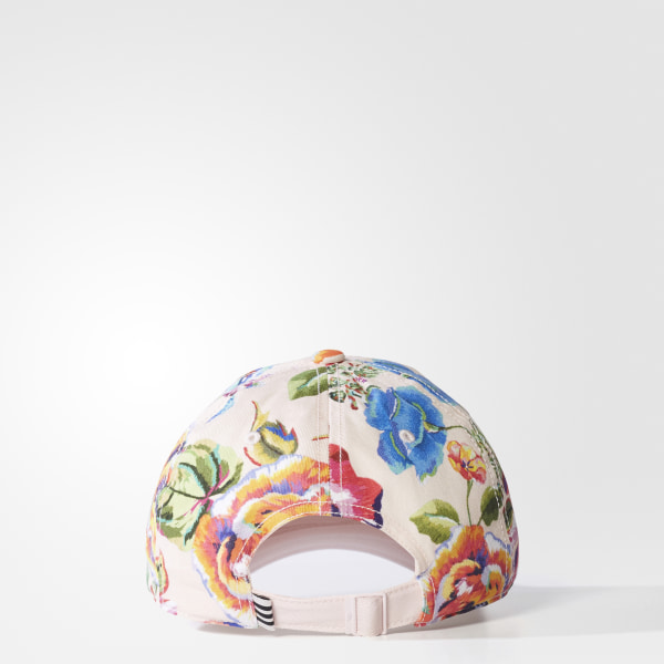 d658f85059c Floral Print Hat Halo Pink   Multicolor BR2087