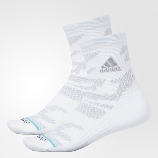 26882612ae3a6d adidas Tiger Style Quarter Socks 2 Pairs - White