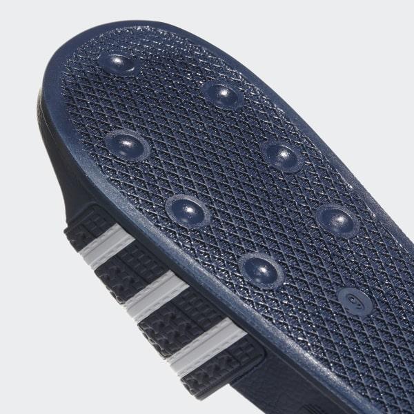 brand new b2cd4 49627 Adilette Slides Adi Blue  White  Adi Blue 288022