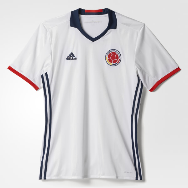 Camisa Colombia I WHITE COLLEGIATE NAVY RED AC2837 b605fc87cdfe3