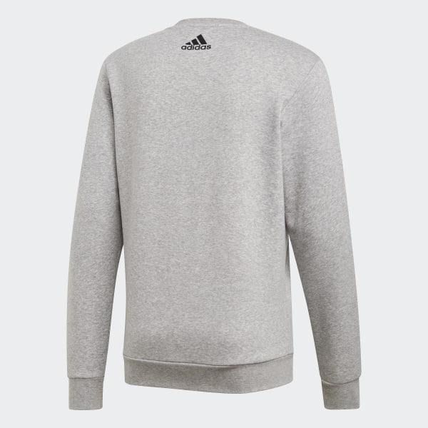 f40b44b7b386 TAN Graphic Crewneck Sweatshirt Medium Grey Heather DP2691