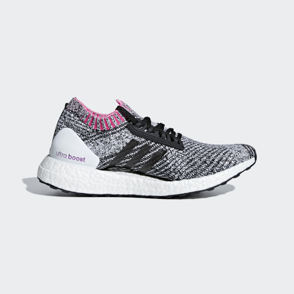 low priced 061a3 532df Ultraboost X Shoes Cloud White  Core Black  Shock Pink BB6524