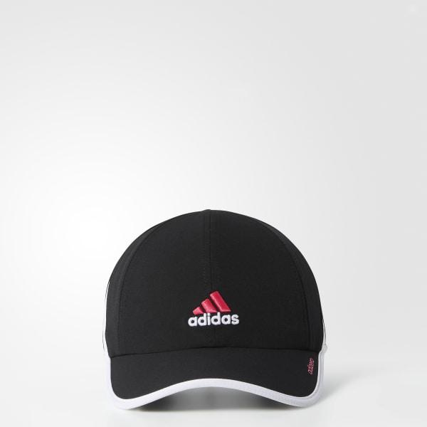 322e87fa31a adizero 2 Hat Black   White Q31003