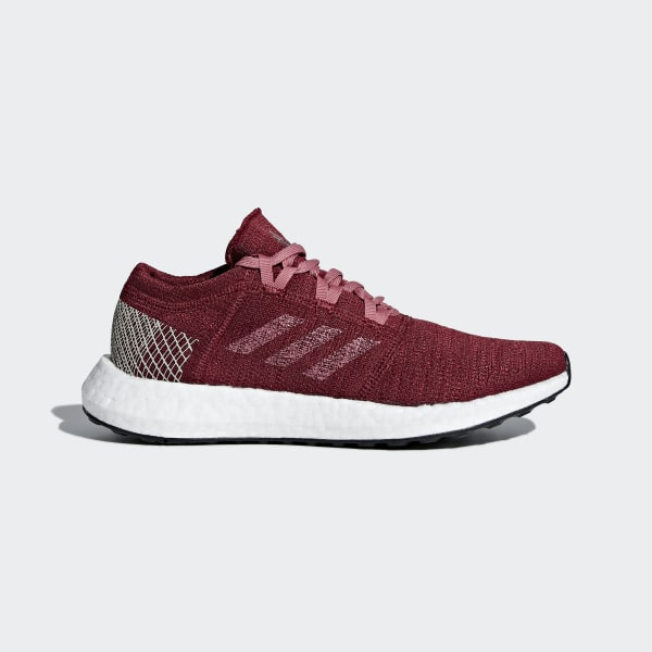 2eda75380 Pureboost Go Shoes Noble Maroon   Trace Maroon   Clear Brown B75768